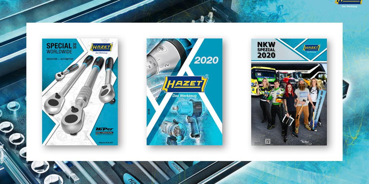 HAZET - Vollautomatisierte Versorgung mit Produkt-Katalogen
