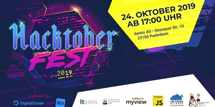 Welcome to Hacktoberfest Paderborn 2019!
