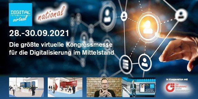DIGITAL FUTUREcongress - Größte Veranstaltung für die Digitalisierung im Mittelstand